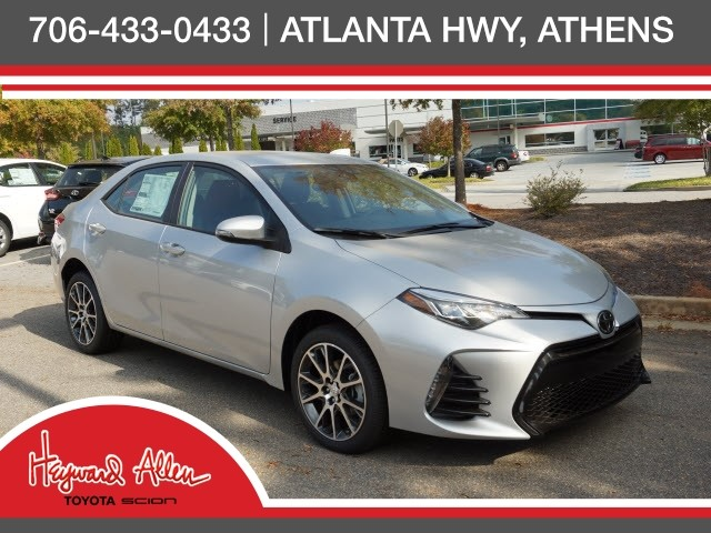 new 2017 toyota corolla 50th anniversary special edition 4d sedan in athens t78450 heyward. Black Bedroom Furniture Sets. Home Design Ideas